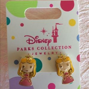 Disney Princess Aurora Sleeping Beauty Earrings